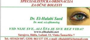 Očna ordinacija dr El-Halabi