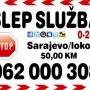 SLEP SLUZBA SARAJEVO 062 000 308